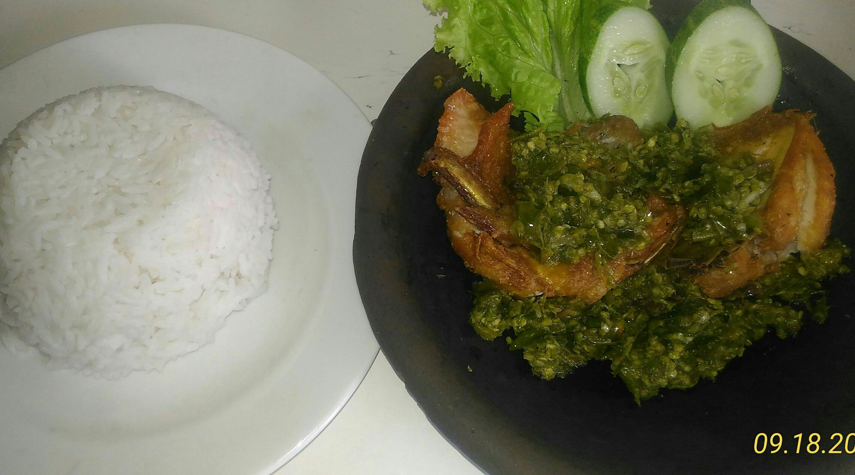 Foto Menu & Review Ayam Penyet Pokemon - Tugu Selatan - Koja