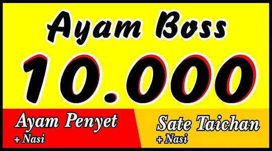 Foto Menu & Review Ayam Boss - Tugu - Jagakarsa