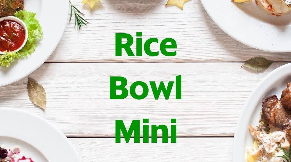 Foto Menu & Review Rice Bowl Mini - Mangga Dua Selatan - Tamansari