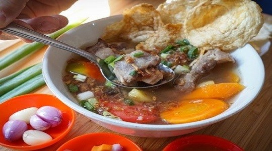 Foto Menu & Review Soto Bang Nawi - Food Market Sunter - Tanjung Priok