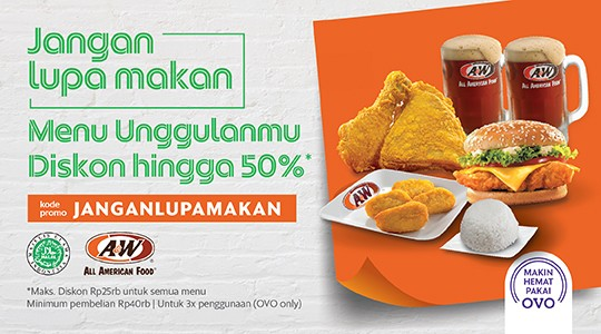 Foto Menu & Review A&W - Kedoya - Kebonjeruk