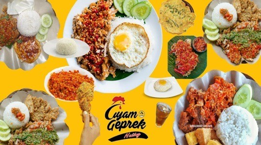 Foto Menu & Review Ayam Geprek Nating - Harapan Mulya - Kemayoran