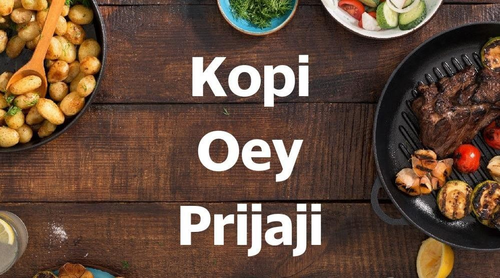 Foto Menu & Review Kopi Oey Prijaji - Centennial Tower - Setiabudi