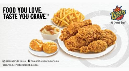 Foto Menu & Review New Texas Chicken - Plaza Festival - Setiabudi
