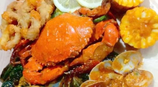 Foto Menu & Review Kerang HUT - Jawara Foodcourt - Kembangan