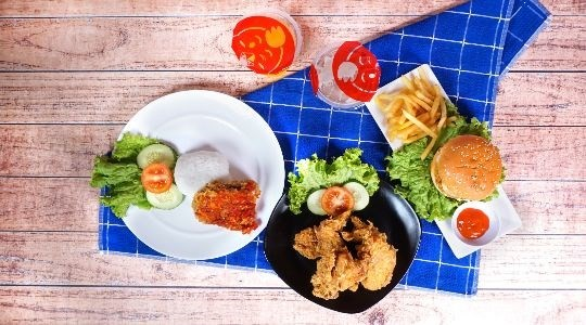 Foto Menu & Review Quick Chicken - Bojong Indah - Palmerah