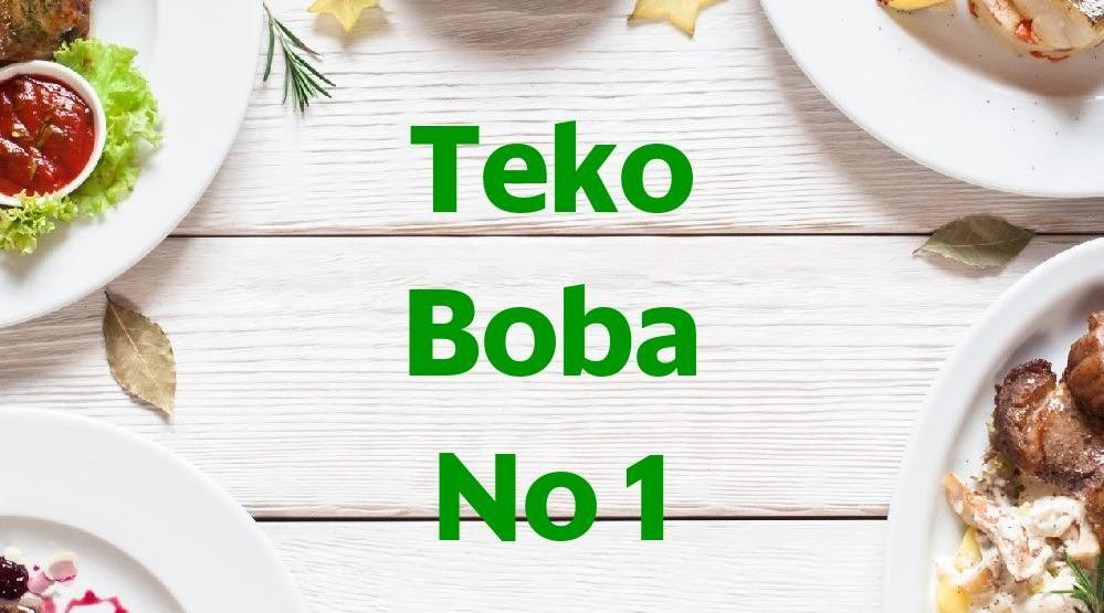 Foto Menu & Review Teko Boba No 1 - Utan Kayu Utara - Matraman