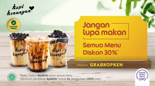 Foto Menu & Review Kopi Kenangan - Epicentrum Walk - Setiabudi