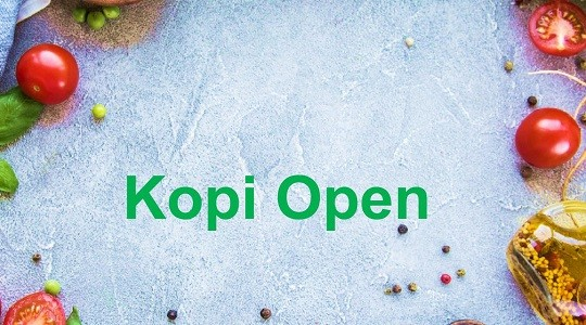 Foto Menu & Review Kopi Open - Pulo - Kebayoran Baru