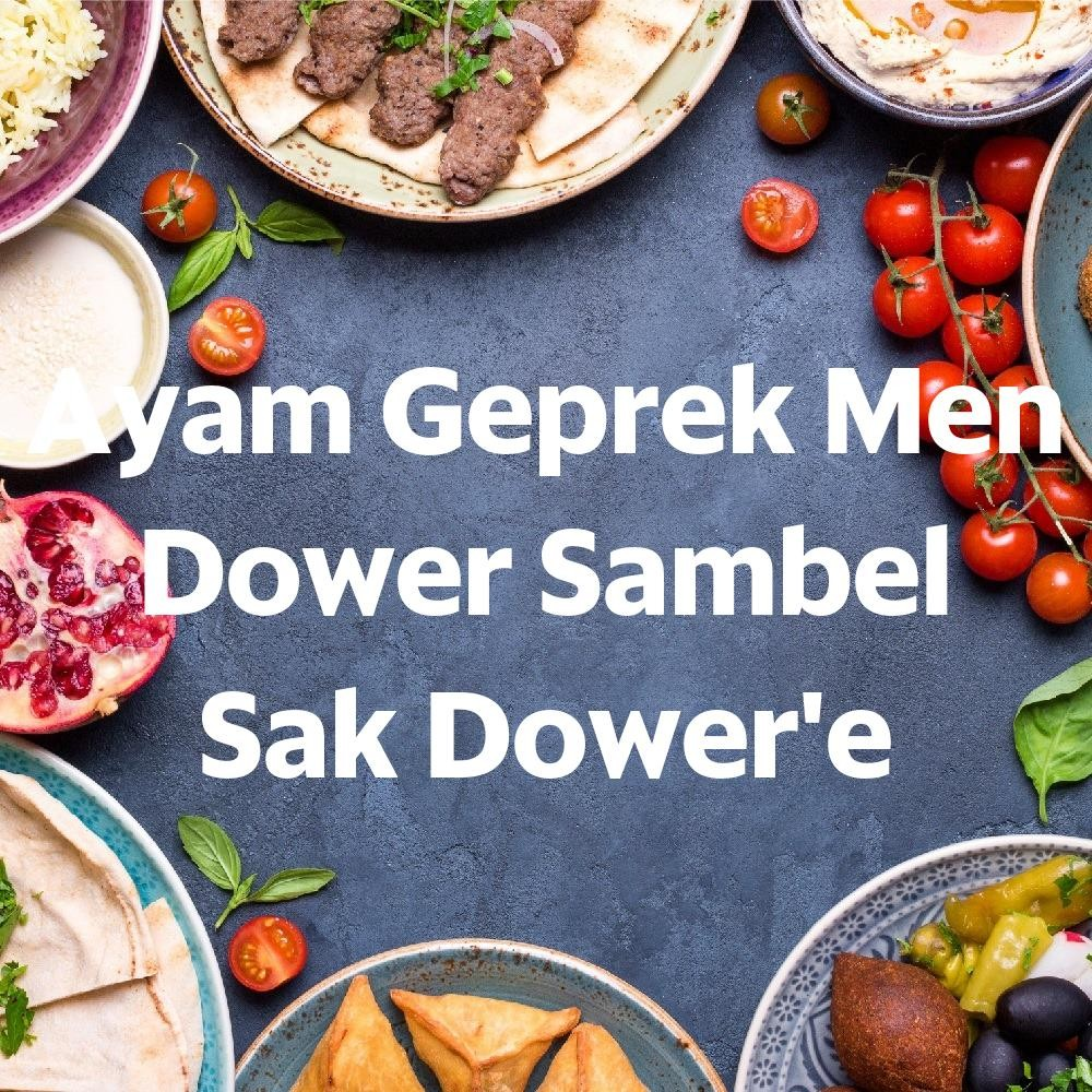 Foto Menu & Review Ayam Geprek Men Dower Sambel Sak Dower'e - Paseban - Senen