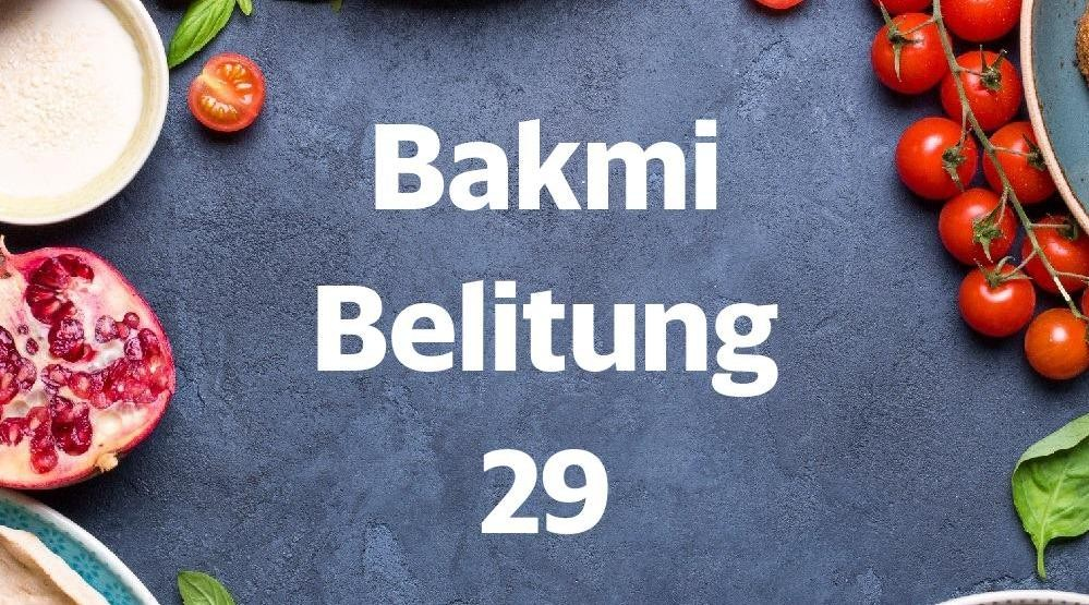 Foto Menu & Review Bakmi Belitung 29 - Pademangan Timur - Pademangan