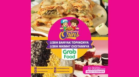 Foto Menu & Review Martabak Pizza Orins - Kebon Jeruk - Kebonjeruk