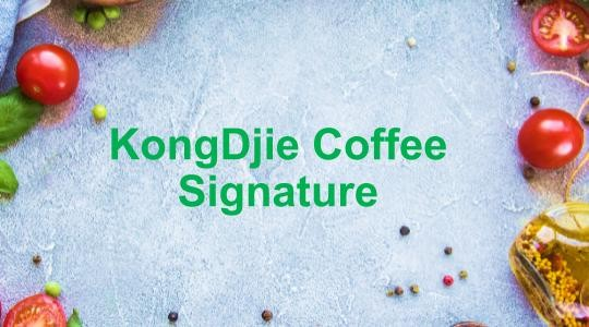 Foto Menu & Review KongDjie Coffee Signature - Kuningan - Setiabudi