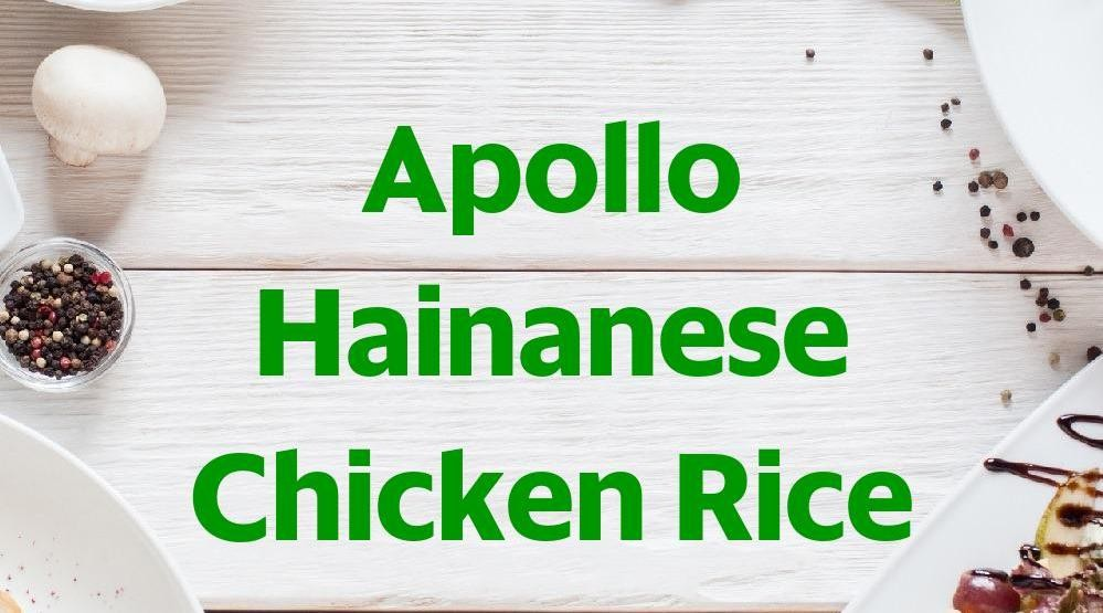 Foto Menu & Review Apollo Hainanese Chicken Rice - FoodHall Lippo Mall Puri - Kembangan