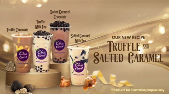 Foto Menu & Review Chatime - Atealier Grand Indonesia - Menteng