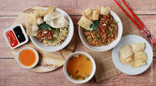 Foto Menu & Review Wan Than Mie Bagan Asey - Tegal Alur - Kalideres