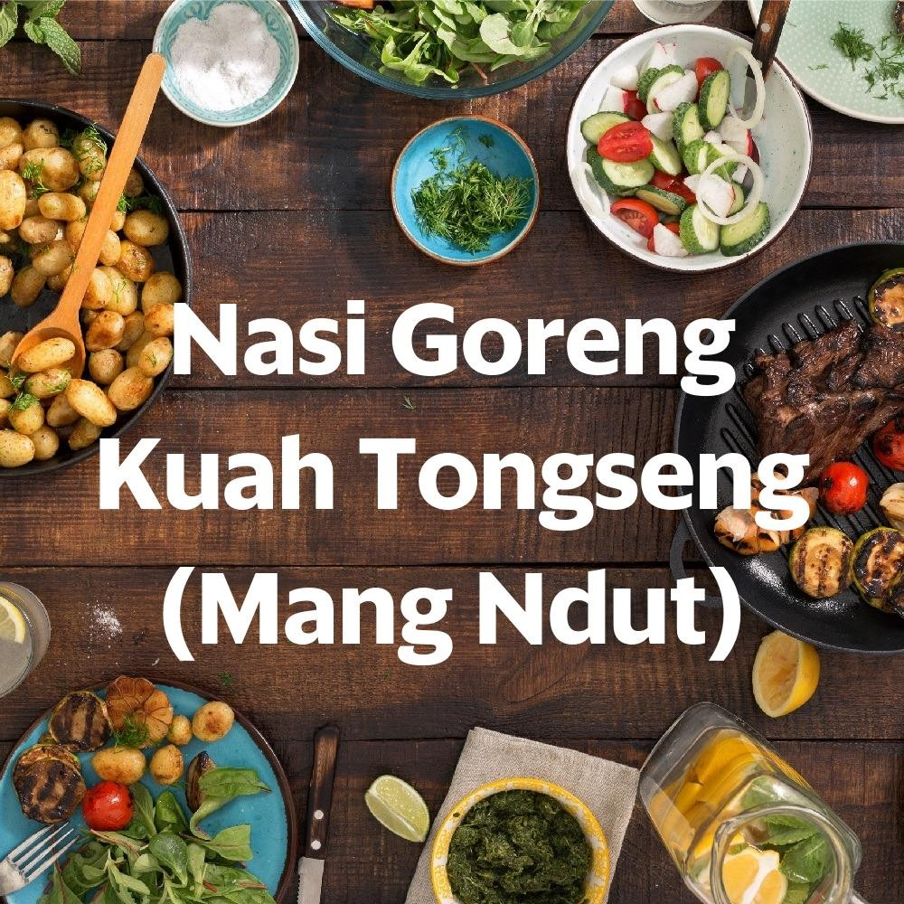 Foto Menu & Review Nasi Goreng Kuah Tongseng (Mang Ndut) - Sunter Agung - Tanjung Priok