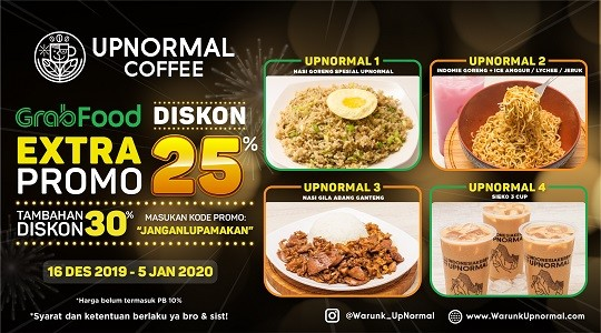 Foto Menu & Review Upnormal Coffee Roasters - Rawamangun - Pulogadung