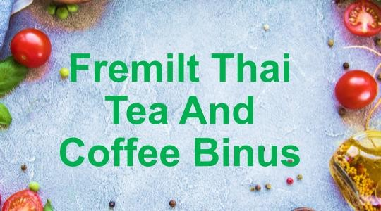 Foto Menu & Review Fremilt Thai Tea And Coffee Binus - Palmerah - Kebonjeruk