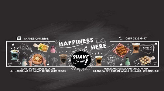 Foto Menu & Review Shake It Off Drink - Cipete Selatan - Cilandak