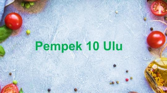 Foto Menu & Review PEMPEK 10 ULU'Hoes - Sunter Hijau - Tanjung Priok