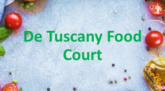 Foto Menu & Review De Tuscany Food Court - Sunter - Tanjung Priok