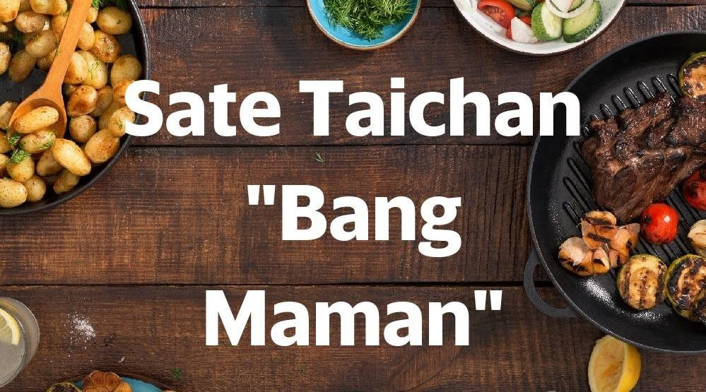 "Foto Menu & Review Sate Taichan ""Bang Maman"" - Food Market Sunter - Tanjung Priok"