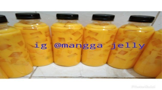 Foto Menu & Review Mangga Jelly - Aladin - Tambora