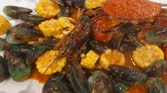Foto Menu & Review Kepiting Cerewet - Food Court Pejaten Halal - Pasar Minggu