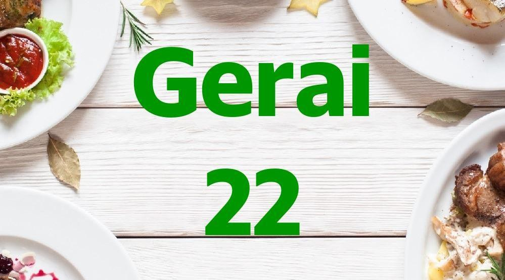 Foto Menu & Review Gerai 22 - Karet - Setiabudi