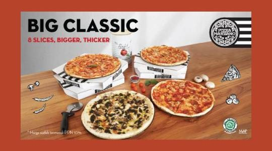 Foto Menu & Review Pizza Marzano - Lotte Shopping Avenue - Setiabudi